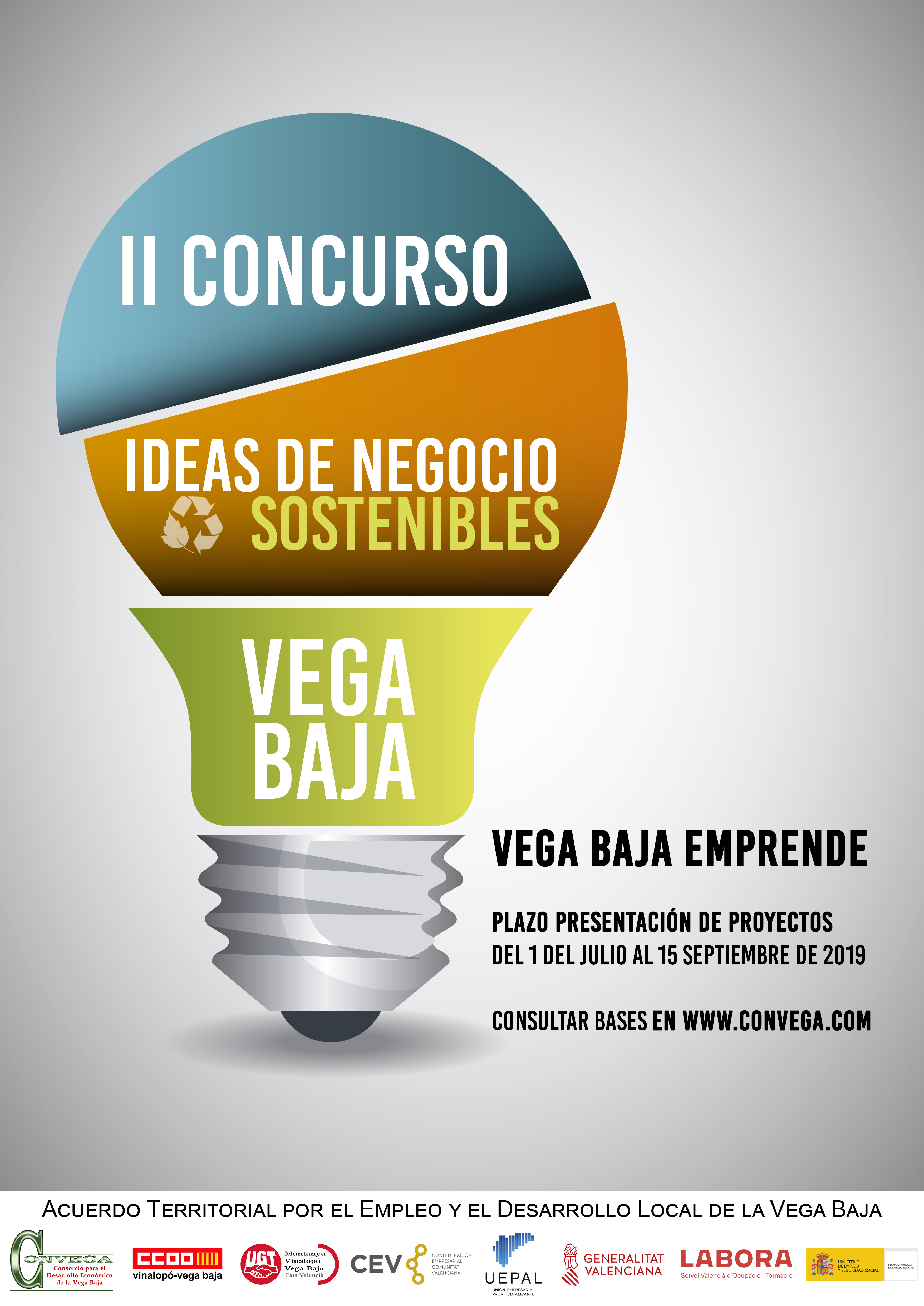 Cartel II Concurso de Ideas de Negocio