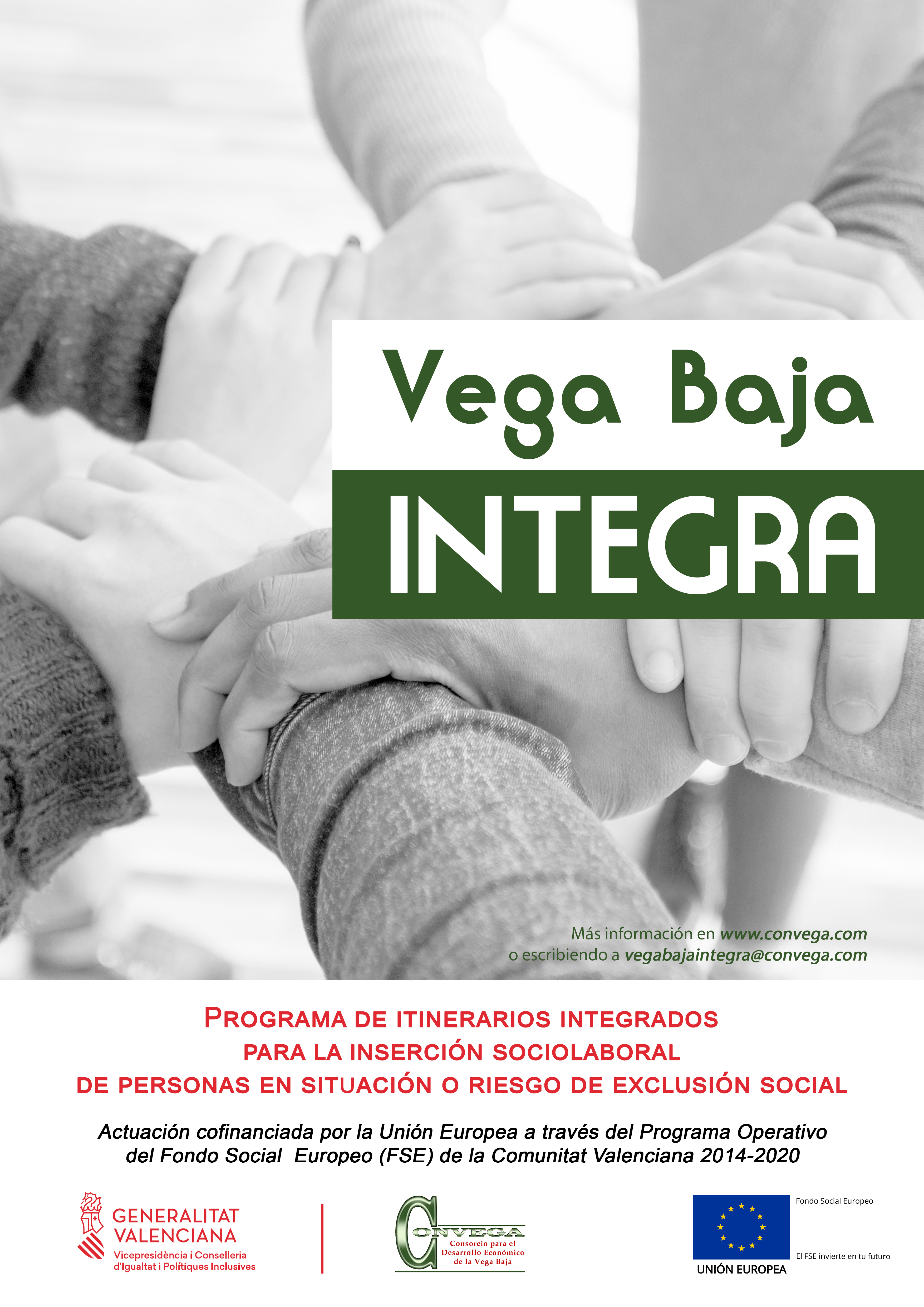 Cartel Vega Baja Integra